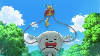 Episodio 17 (TSerie Pokémon XY–Expediciones en Kalos) de Pokémon: XY