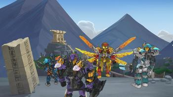 Episodio 1 (TTemporada 1) de LEGO Bionicle: The Journey to One