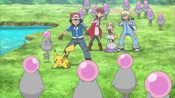 Episodio 13 (TSerie Pokémon XY–Expediciones en Kalos) de Pokémon: XY