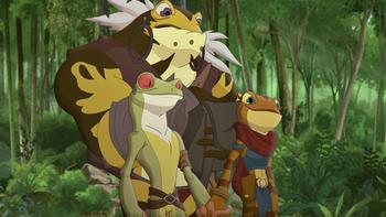 Episodio 12 (TTemporada 1) de Kulipari: Un ejército de ranas